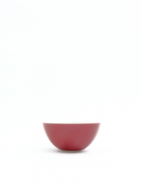 Bowl S WINE RED (wine red x si...