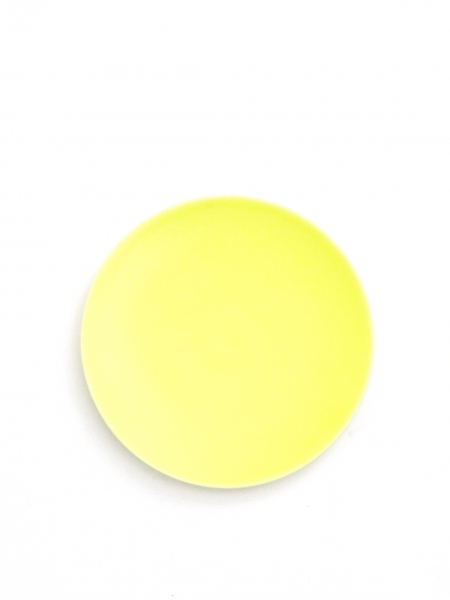 Assiette 7 Yellow