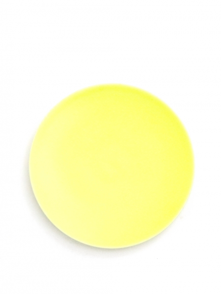 Assiette 8 Yellow